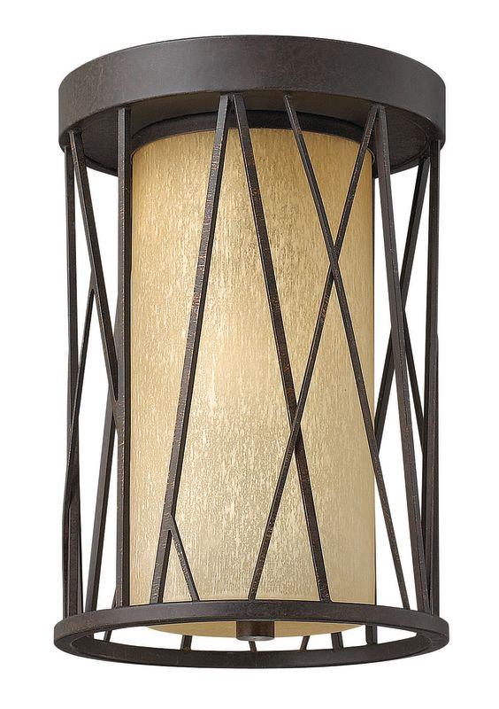 Fredrick Ramond FR41621ORB 1 Light Flush Mount Ceiling Fixture from