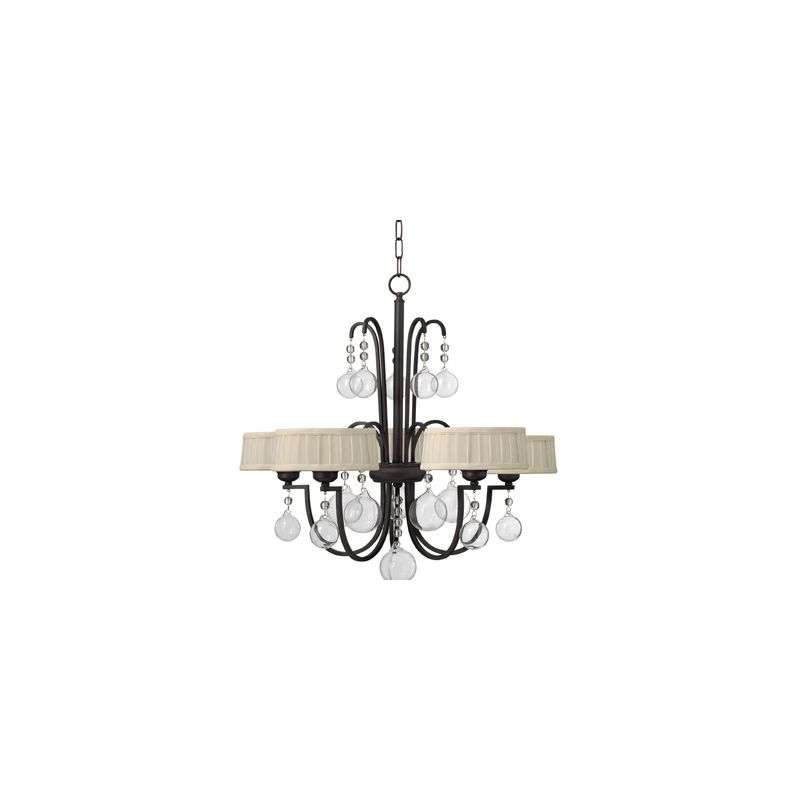 Fredrick Ramond FR49435 5 Light 1 Tier Chandelier from the Prosecco