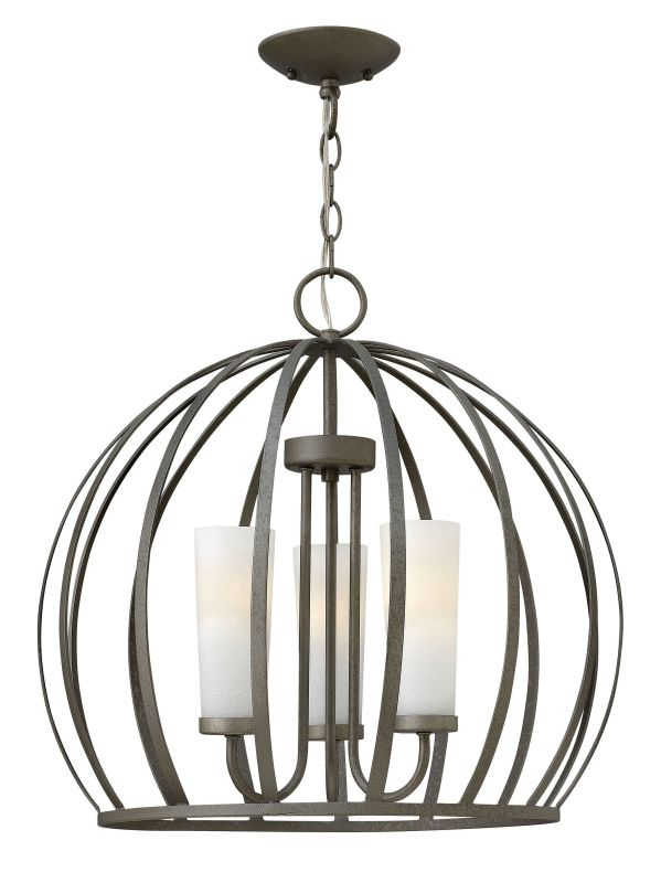 Fredrick Ramond FR32906 3 Light 1 Tier Chandelier from the Renata