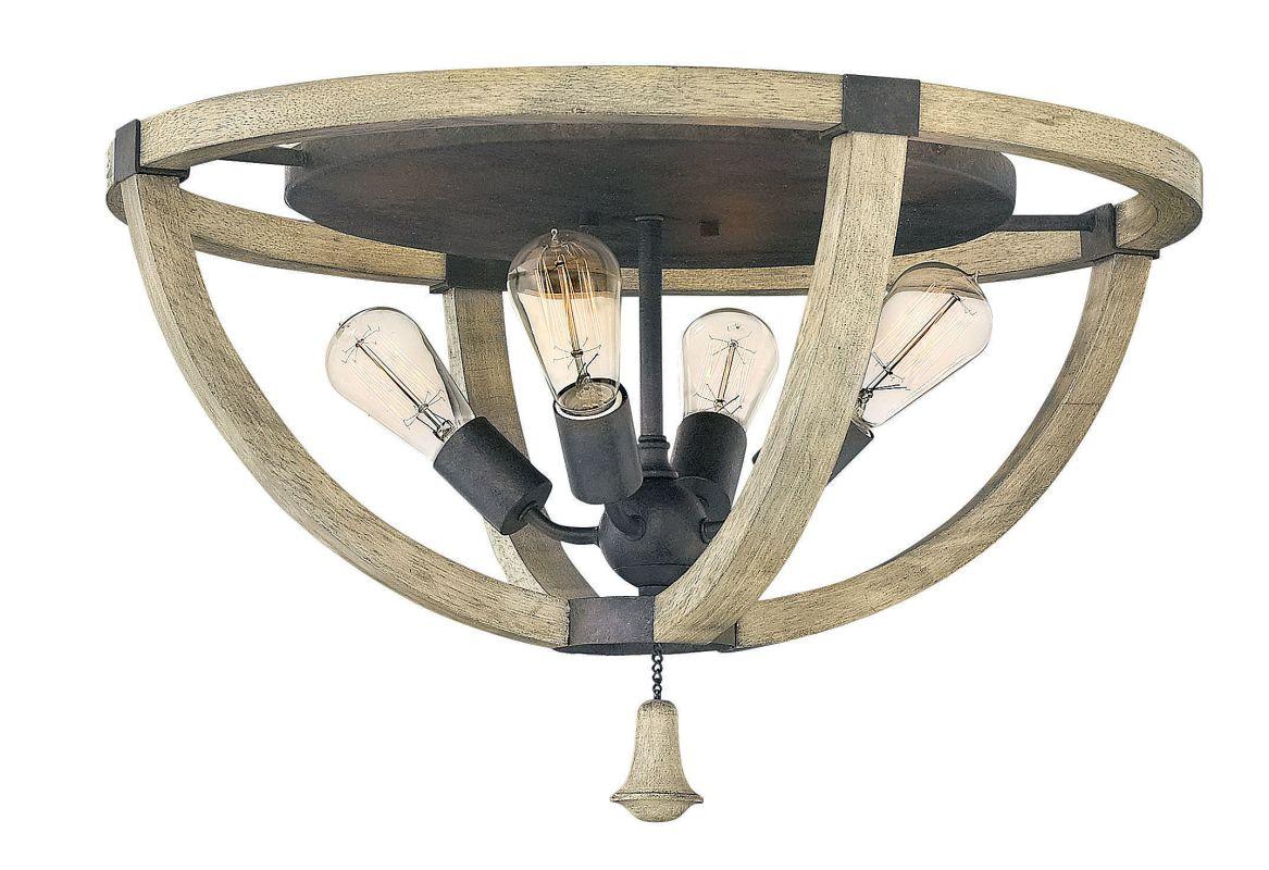 Fredrick Ramond FR40571 4 Light Flush Mount Ceiling Fixture From the