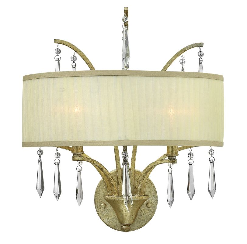 Fredrick Ramond FR40772 2 Light Wall Sconce from the Camilla Sale $319.00 ITEM: bci2672101 ID#:FR40772SLF UPC: 640665001334 :