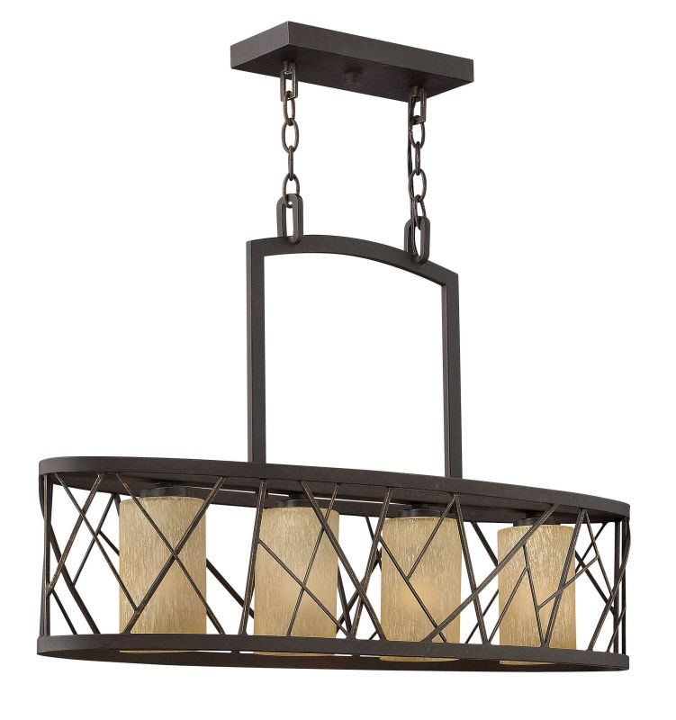 Fredrick Ramond FR41614 4 Light 1 Tier Chandelier from the Nest