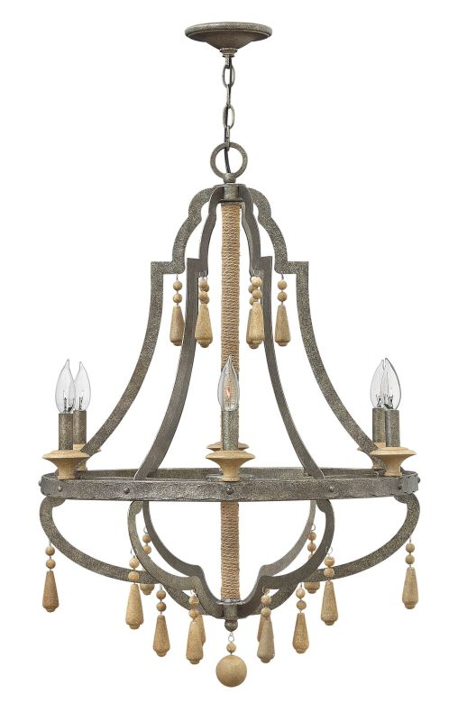 Fredrick Ramond FR42286 6 Light 1 Tier Chandelier from the Cordoba Sale $1249.00 ITEM: bci2658499 ID#:FR42286DIR UPC: 640665001396 :