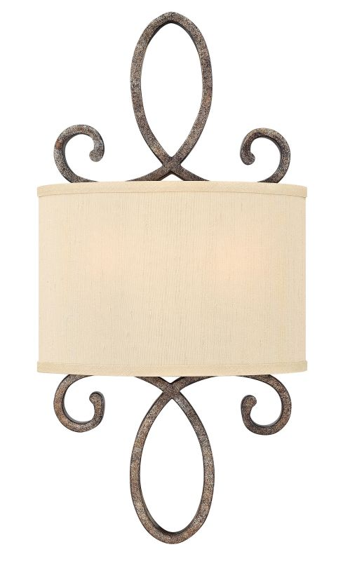Fredrick Ramond FR42500 2 Light Wall Sconce from the Monterey