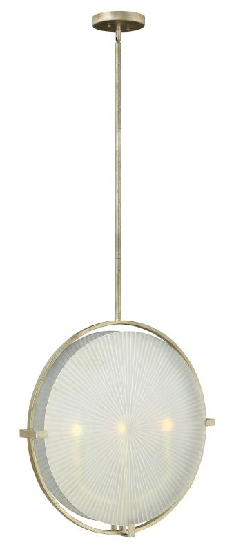 Fredrick Ramond FR43913 3 Light Large Pendant from the Helios