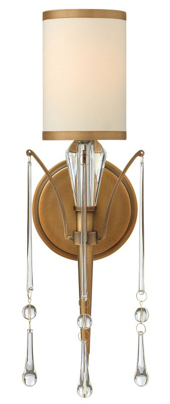Fredrick Ramond FR44500 1 Light Wall Sconce from the Bentley