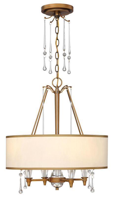 Fredrick Ramond FR44504 4 Light 1 Tier Chandelier from the Bentley