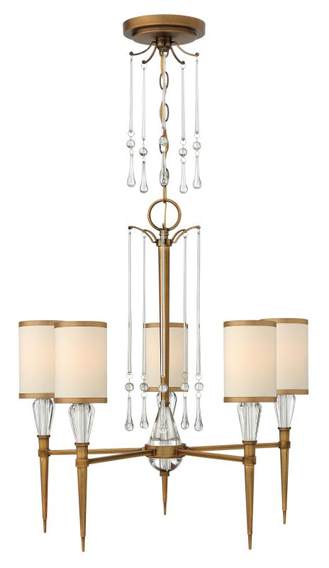 Fredrick Ramond FR44505 5 Light 1 Tier Chandelier from the Bentley