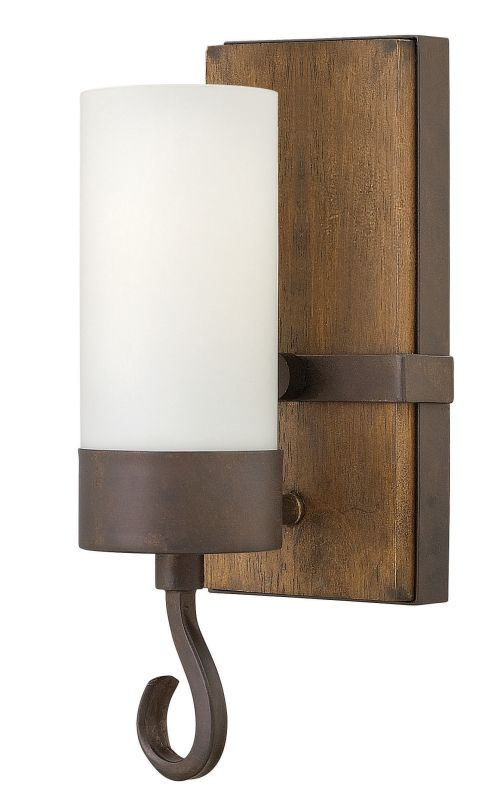 Fredrick Ramond FR48430 1 Light Wall Sconce from the Cabot collection Sale $139.00 ITEM: bci2672122 ID#:FR48430IRN UPC: 640665002478 :