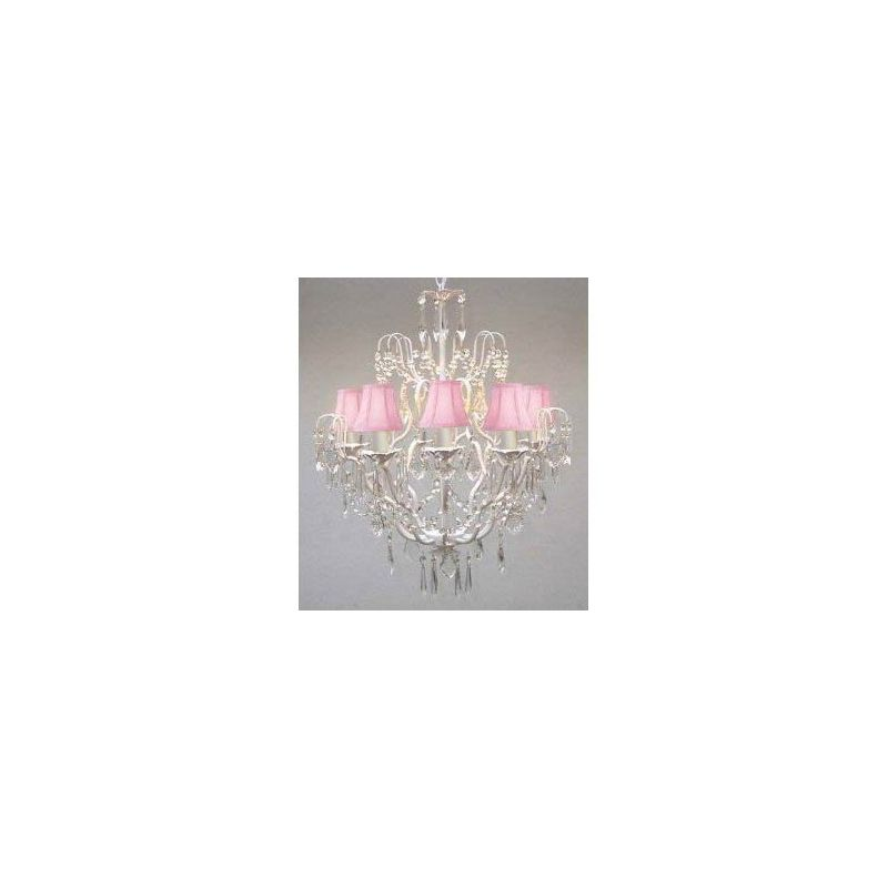 "Gallery T22-1130 Versailles 5 Light 21"" Wide Single Tier Chandelier"