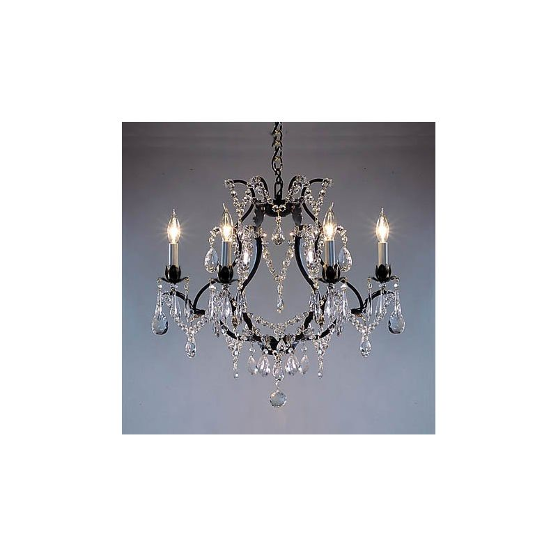 "Gallery T22-1185 Versailles 6 Light 20"" Wide Single Tier Chandelier"