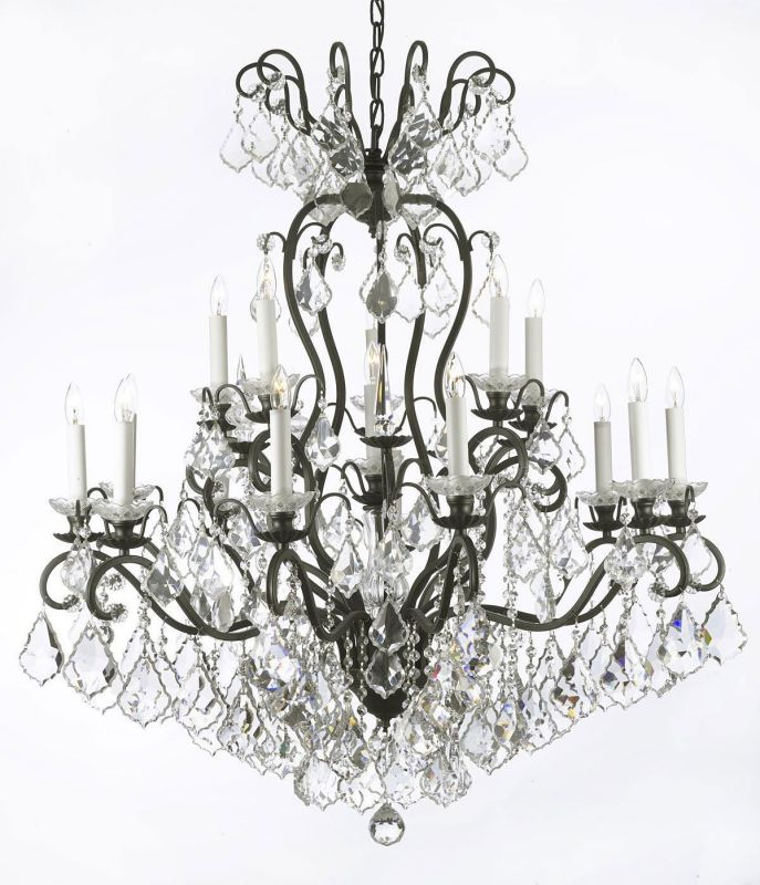 "Gallery T22-1198 Versailles 16 Light 38"" Wide 2 Tier Chandelier with"