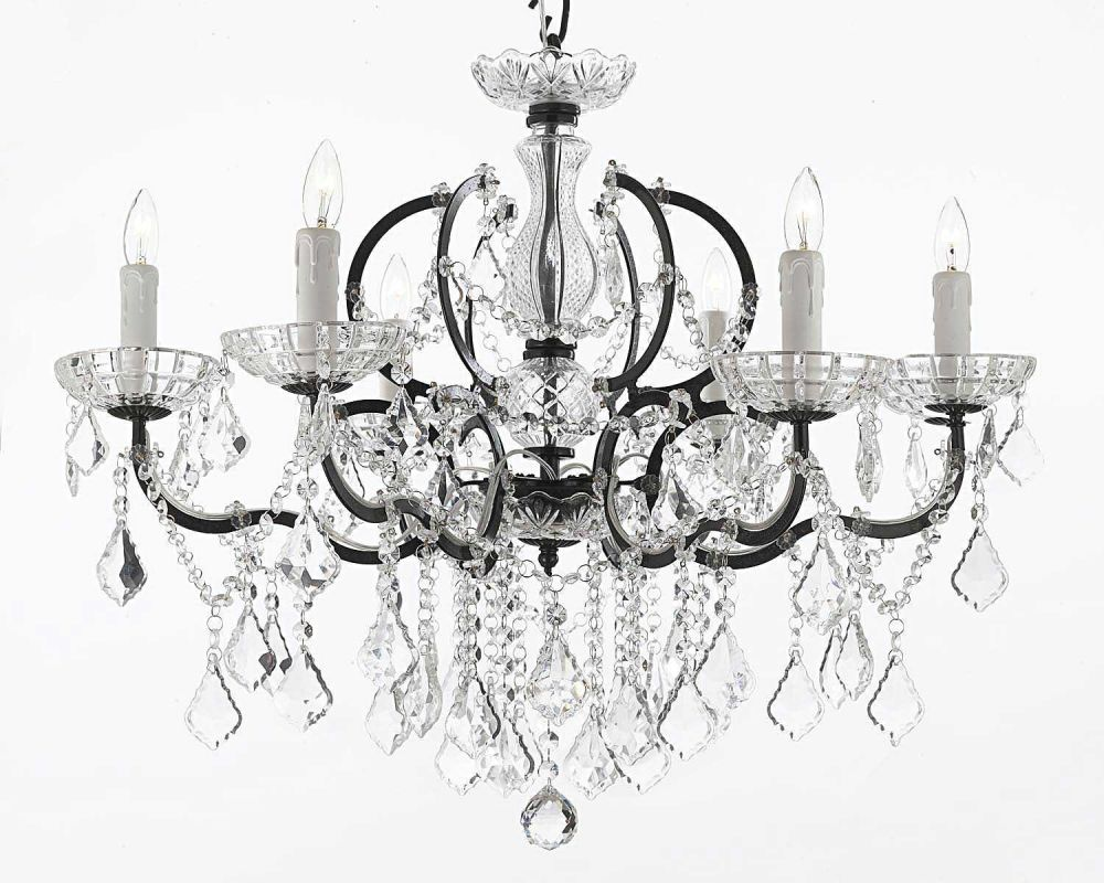 "Gallery T22-1202 Versailles 6 Light 26"" Wide Single Tier Chandelier"