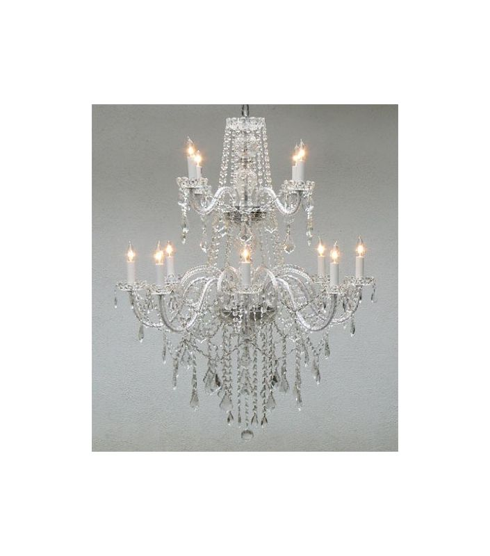 Gallery T40-114 Authentic All Crystal Chandelier Chandeliers Lighting Sale $460.00 ITEM: bci2431929 ID#:T40-114 UPC: 738759833708 :