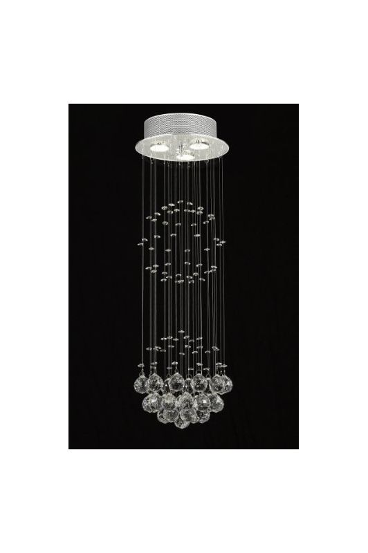 Gallery T40-432 Modern 3 Light 1 Tier Crystal Mini Chandelier with Sale $120.10 ITEM: bci2432191 ID#:T40-432 UPC: 738759833982 :