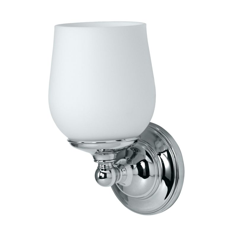 Gatco GC1650 Single Sconce Lighting from the Oldenburg Series Chrome