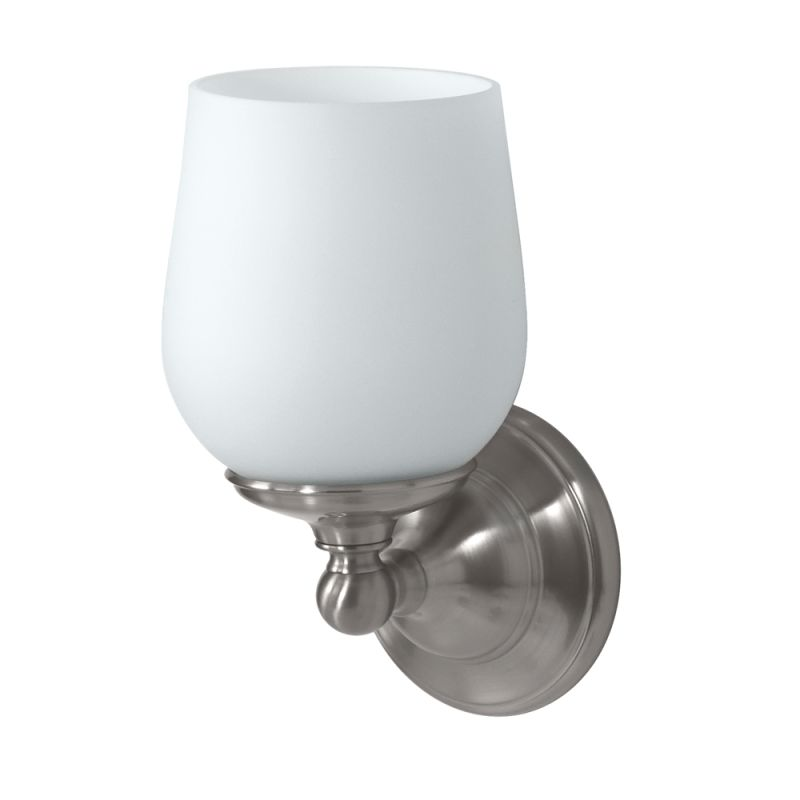 Gatco GC1651 Single Light Bath Sconce from the Oldenburg Series Satin