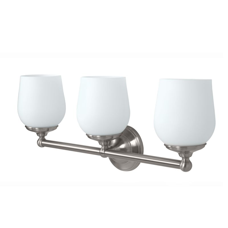 Gatco GC1657 Triple Light Bath Sconce from the Oldenburg Series Satin