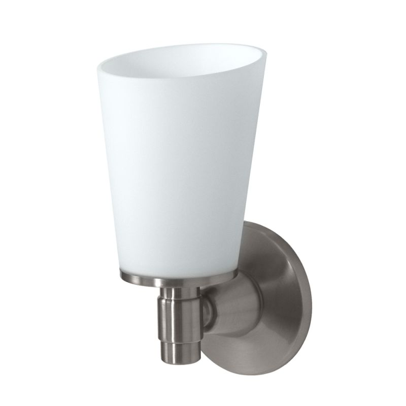 Gatco GC1661 Single Light Bath Sconce from the Max Series Satin Nickel