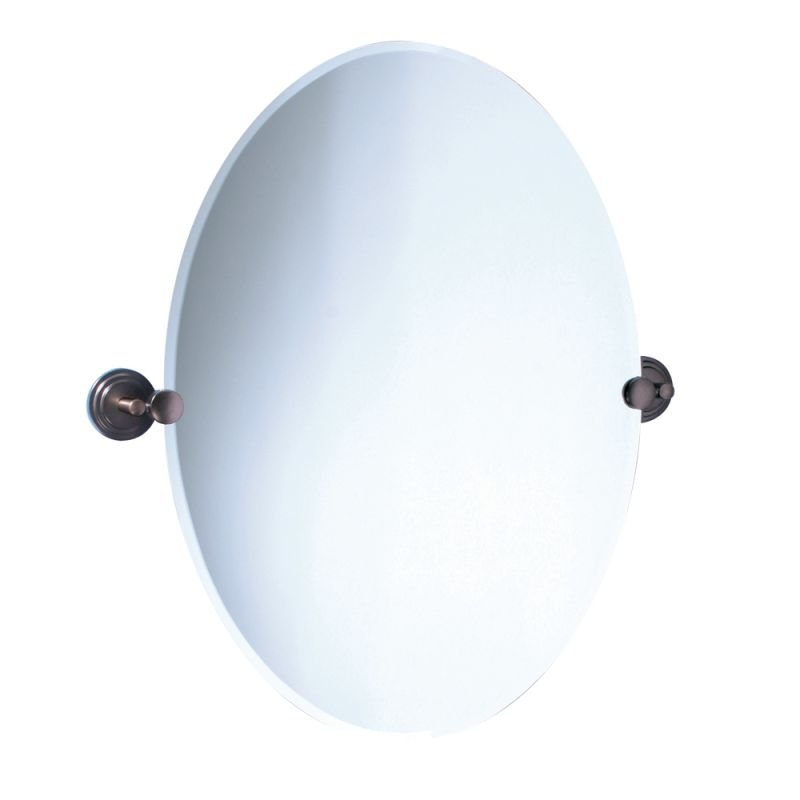 Gatco GC4920 Oval Mirror from the Franciscan Series Oil Rubbed Bronze