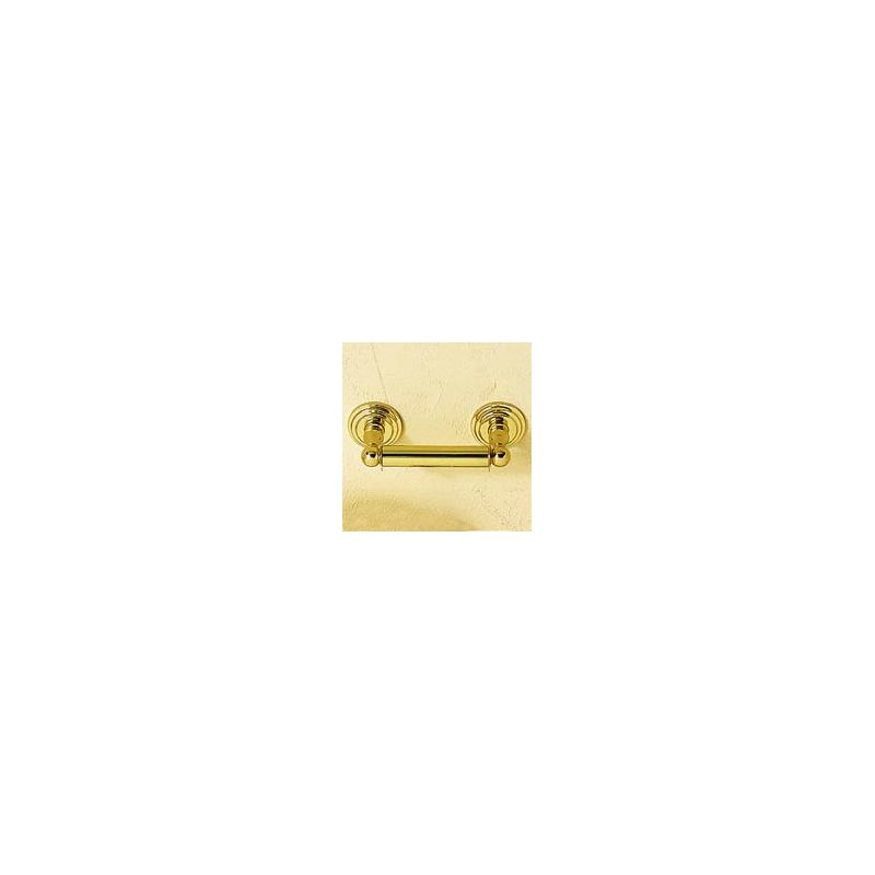 Ginger 1108N Chelsea Single Post Toilet Paper Holder Polished Brass