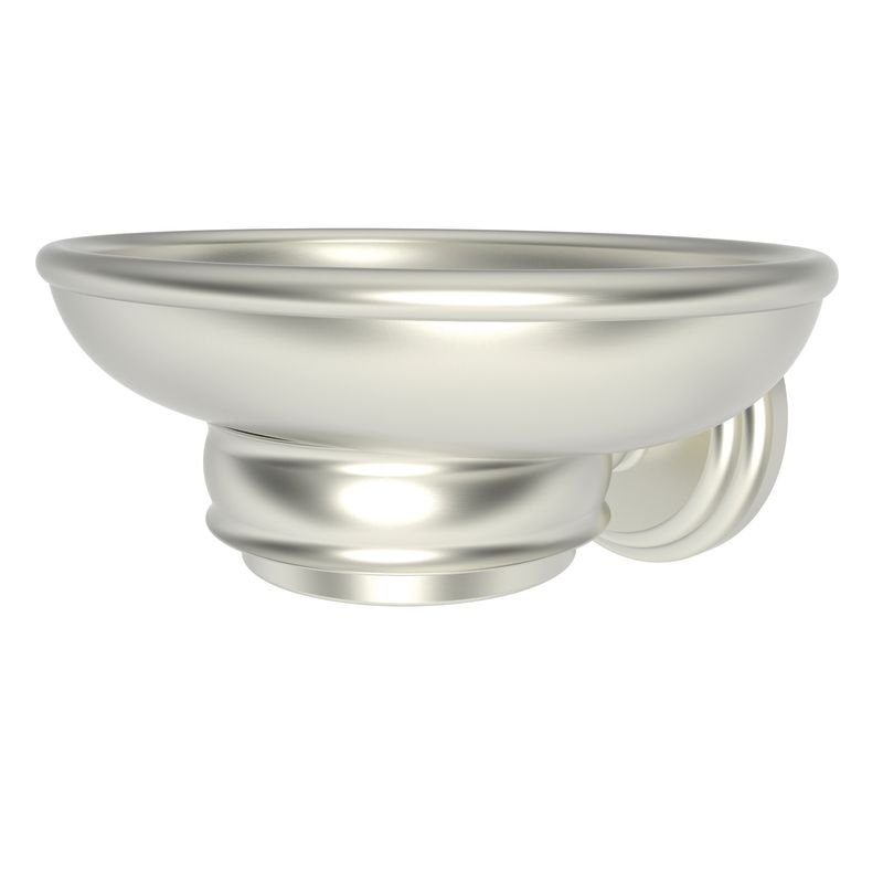 Ginger 1115 Soap Dish from the Chelsea Collection Satin Nickel