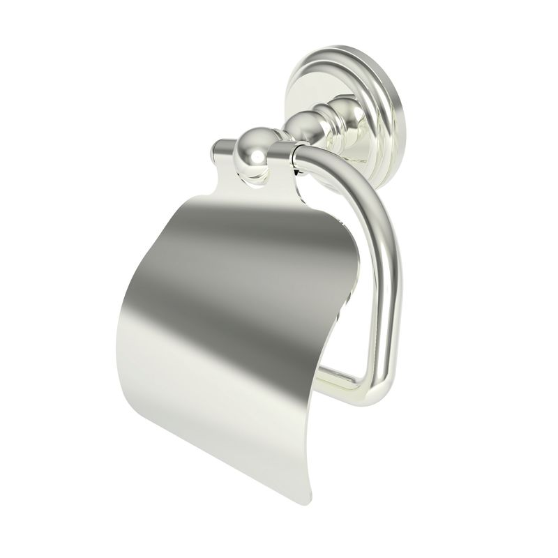 Ginger 1127 Chelsea Single Post Toilet Paper Holder with Cover