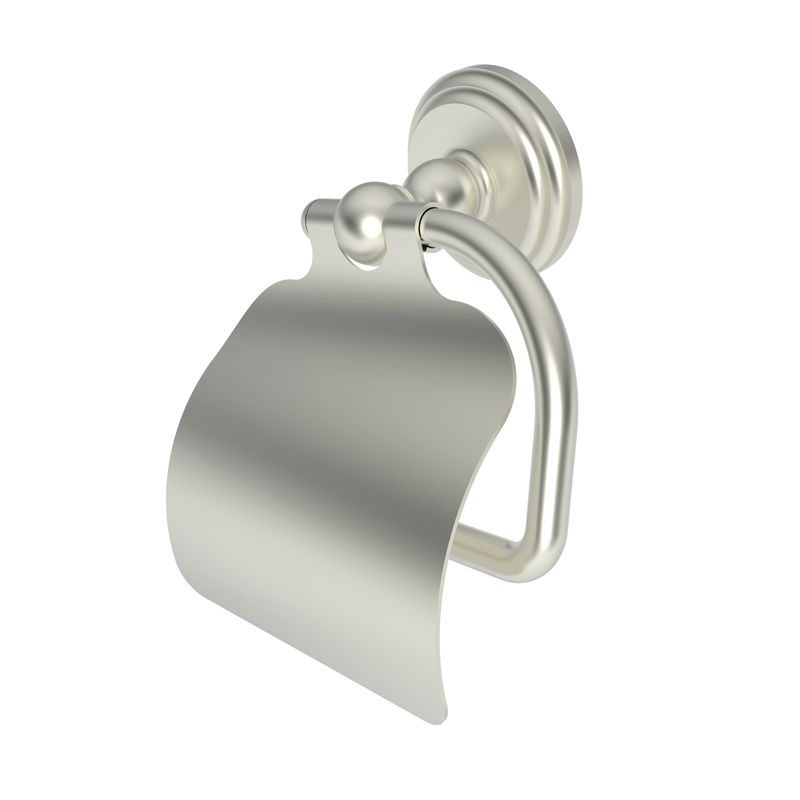 Ginger 1127 Chelsea Single Post Toilet Paper Holder with Cover Satin