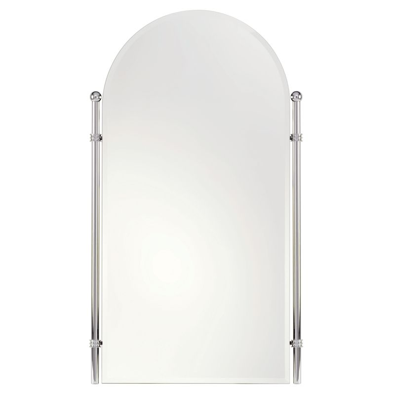 "Ginger 1142 Chelsea 26.4"" Wall Mounted Portrait Mirror with Beveled"