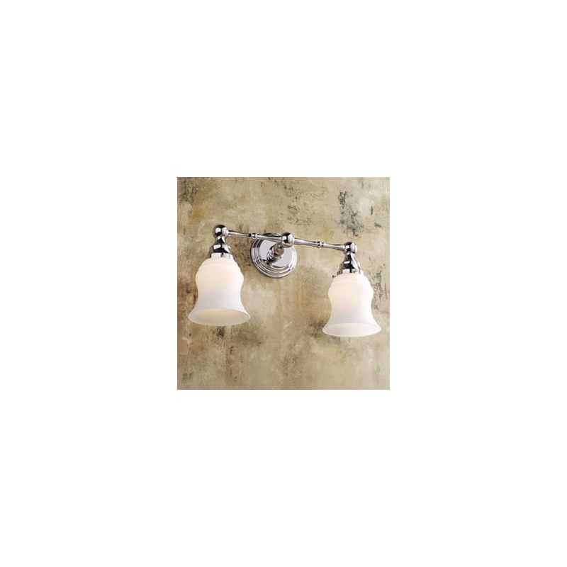 "Ginger 1182SO 2 Light 17.1"" Wide Bathroom Fixture from the Chelsea"