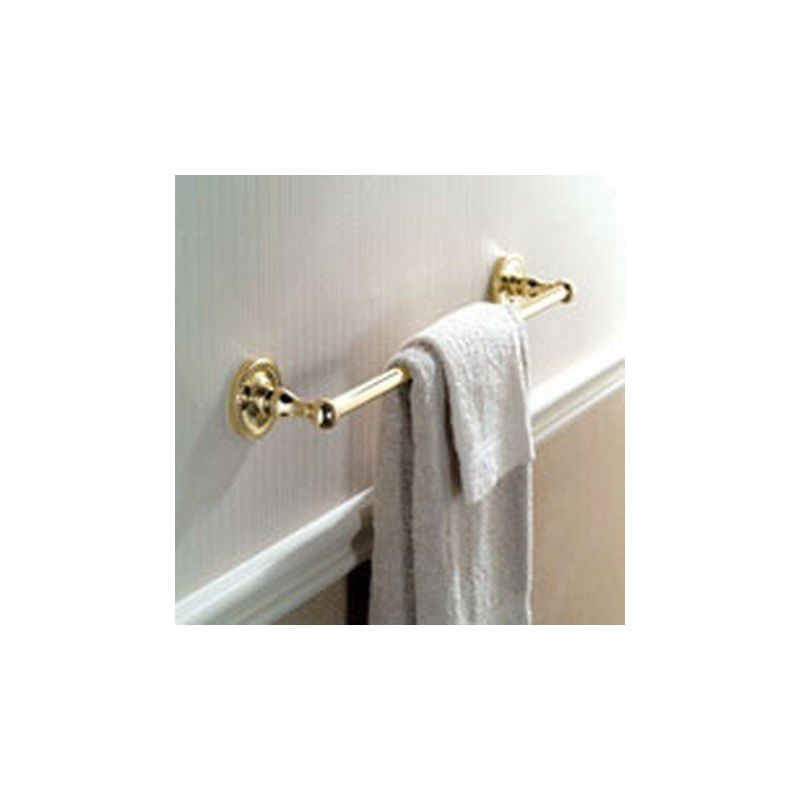 Ginger 1501 12 Inch Towel Bar from the Canterbury Collection Polished