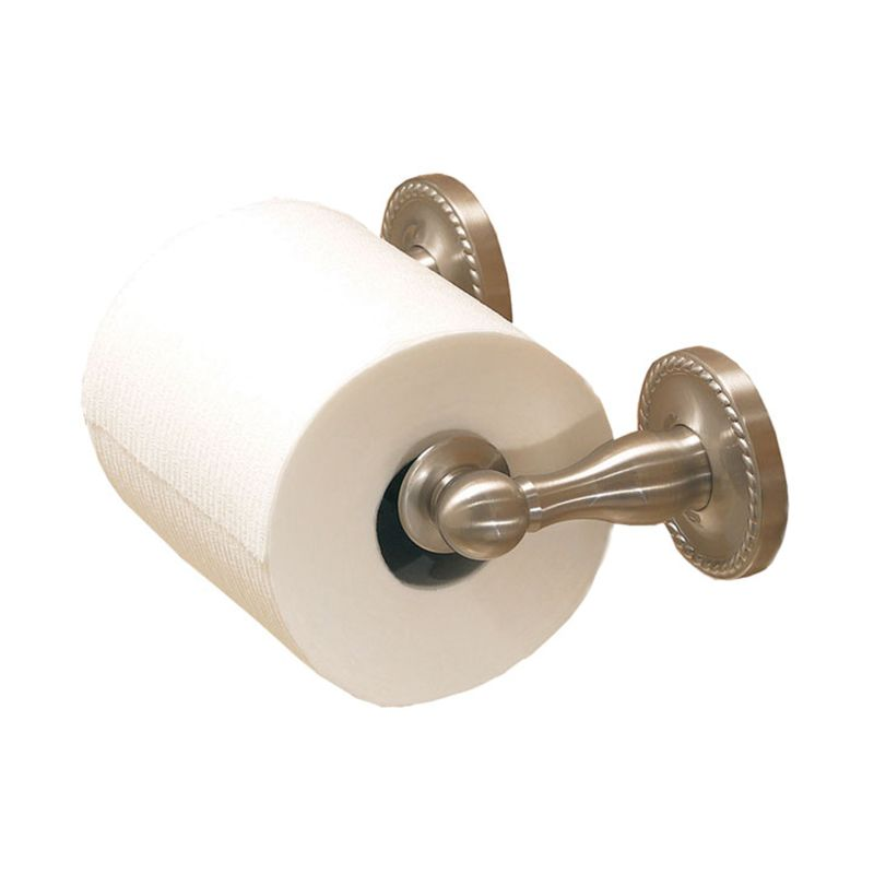 Ginger 1508N Canterbury Double Post Toilet Paper Holder Satin Nickel