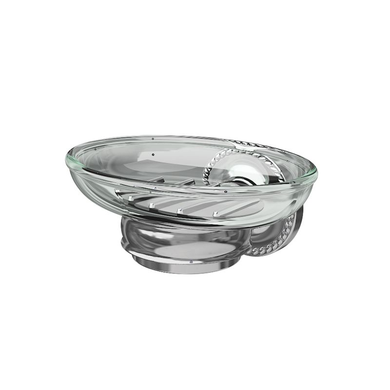 Ginger 1515 Soap Dish from the Canterbury Collection Polished Chrome