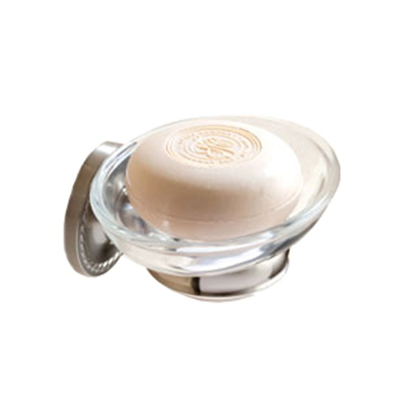 Ginger 1515 Soap Dish from the Canterbury Collection Satin Nickel
