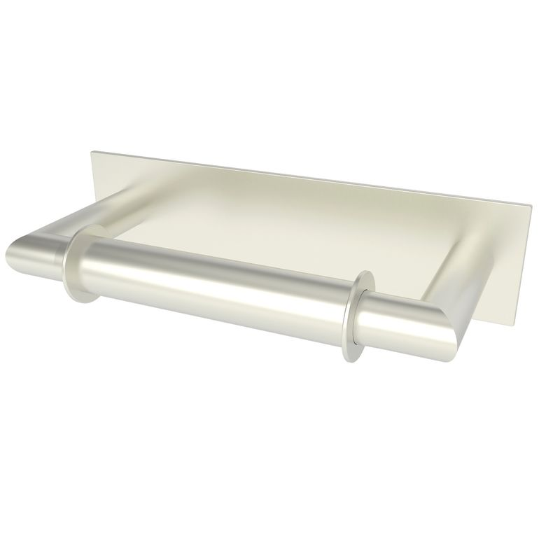 Ginger 2808 Surface Double Post Toilet Paper Holder Satin Nickel