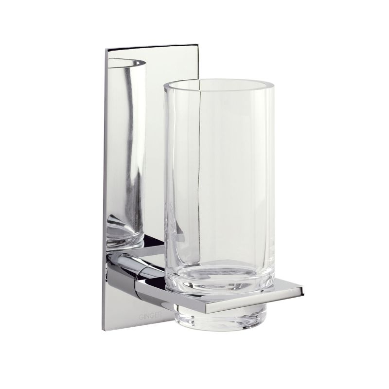 Ginger 2813 Tumbler from the Surface Collection Polished Chrome