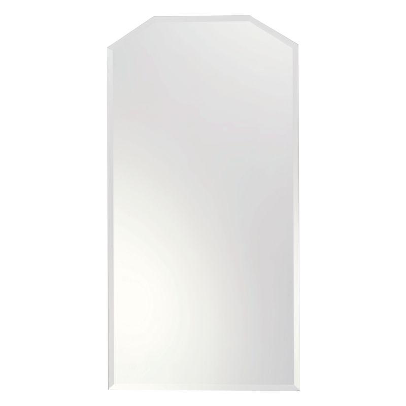 "Ginger 642N Empire 26.4"" Rectangular Mirror with Beveled Edge Less"