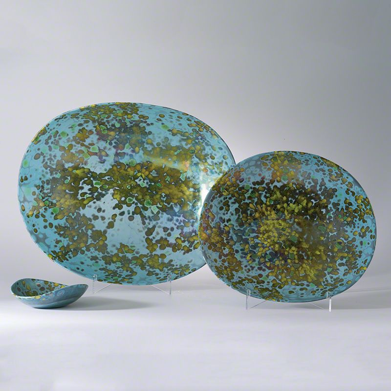 Global Views Galaxy Folded Celestial Bowl - Available in 3 Sizes Large