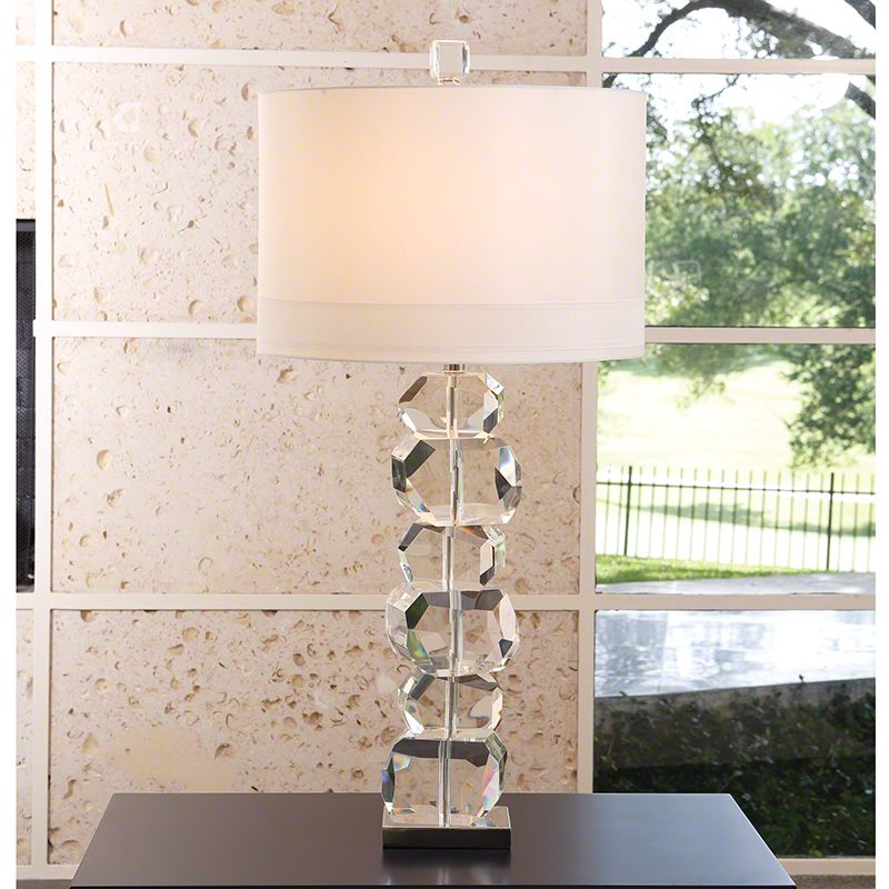 Global Views 8.82165 1 Light Accent Table Lamp Crystal Lamps Accent