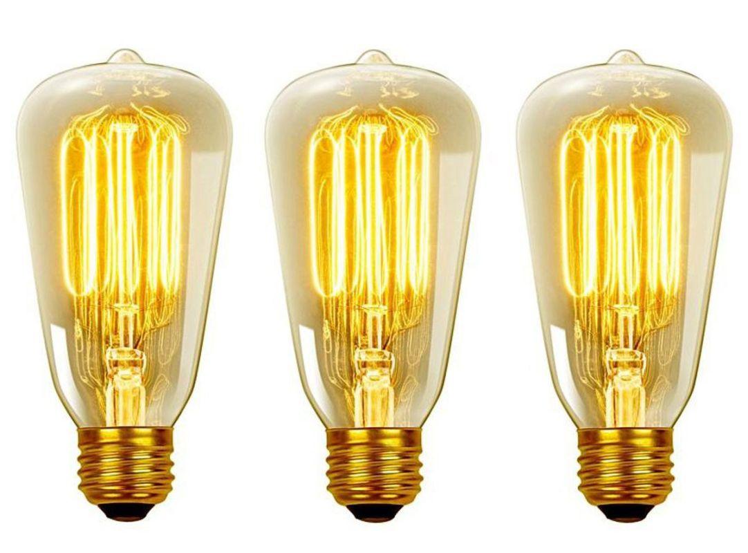Globe Electric 31324 40 Watt Dimmable S60 Medium (E26) Incandescent