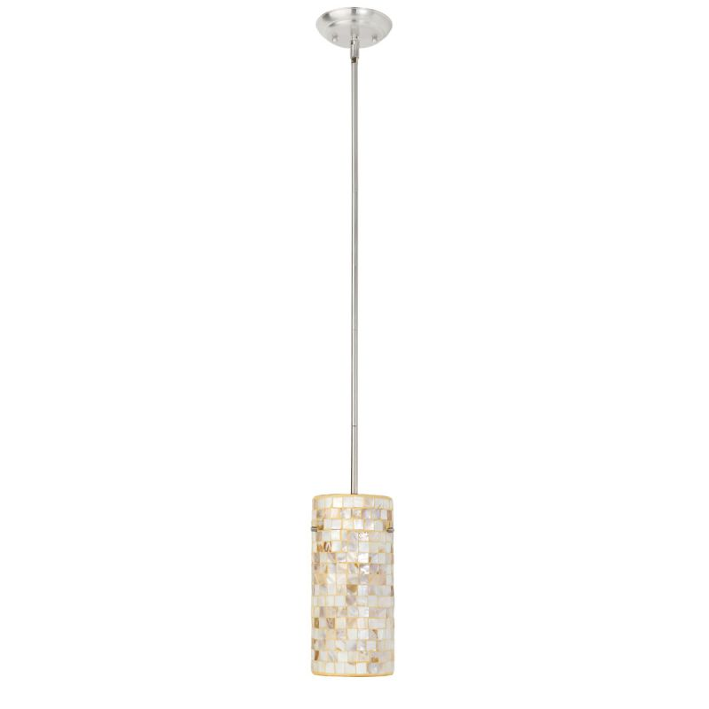 Globe Electric 63954 Pearl Mother Of Pearl 1 Light Pendant