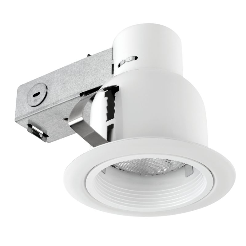 Remove Recessed Lighting Clips : Globe electric white light recessed lighting kit