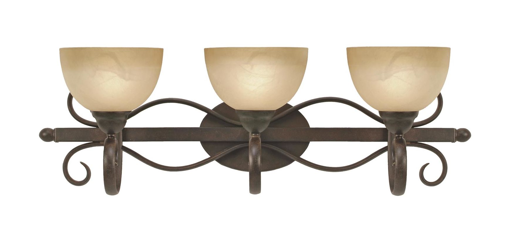 Golden Lighting 1567-BA3 Three Light Bathroom Fixture from the