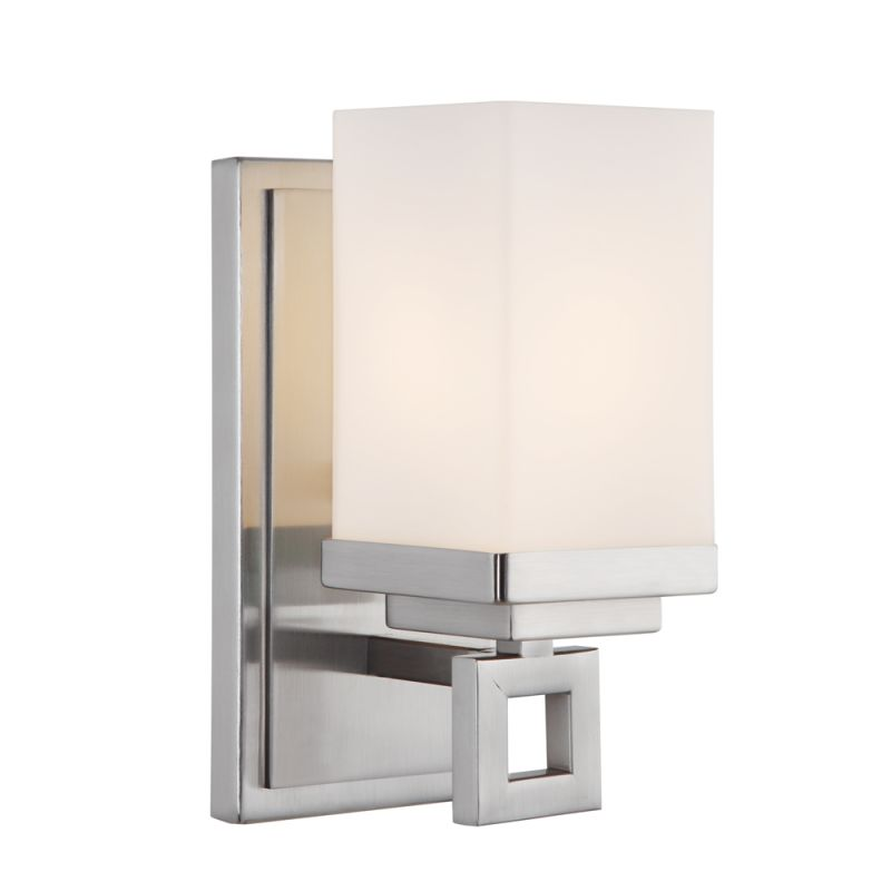Golden Lighting 4444-BA1 PW Pewter Contemporary Nelio Bathroom Light