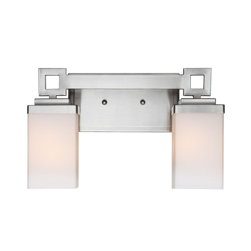 Golden Lighting 4444-BA2 PW Pewter Contemporary Nelio Bathroom Light