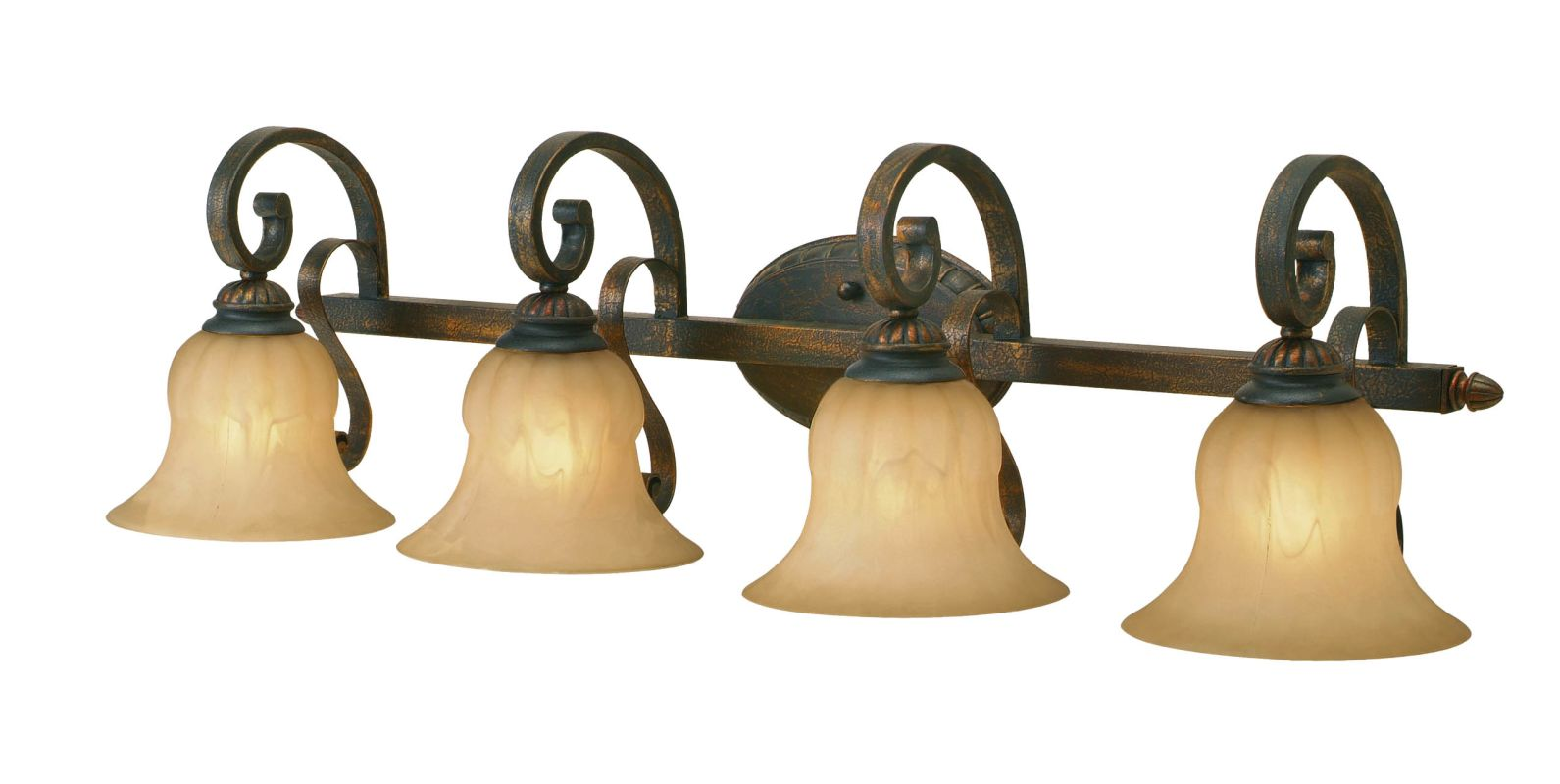 Golden Lighting 7116-BA4 Four Light Bathroom Fixture from the Mayfair Sale $209.00 ITEM: bci640505 ID#:7116-BA4 LC UPC: 844375003842 :
