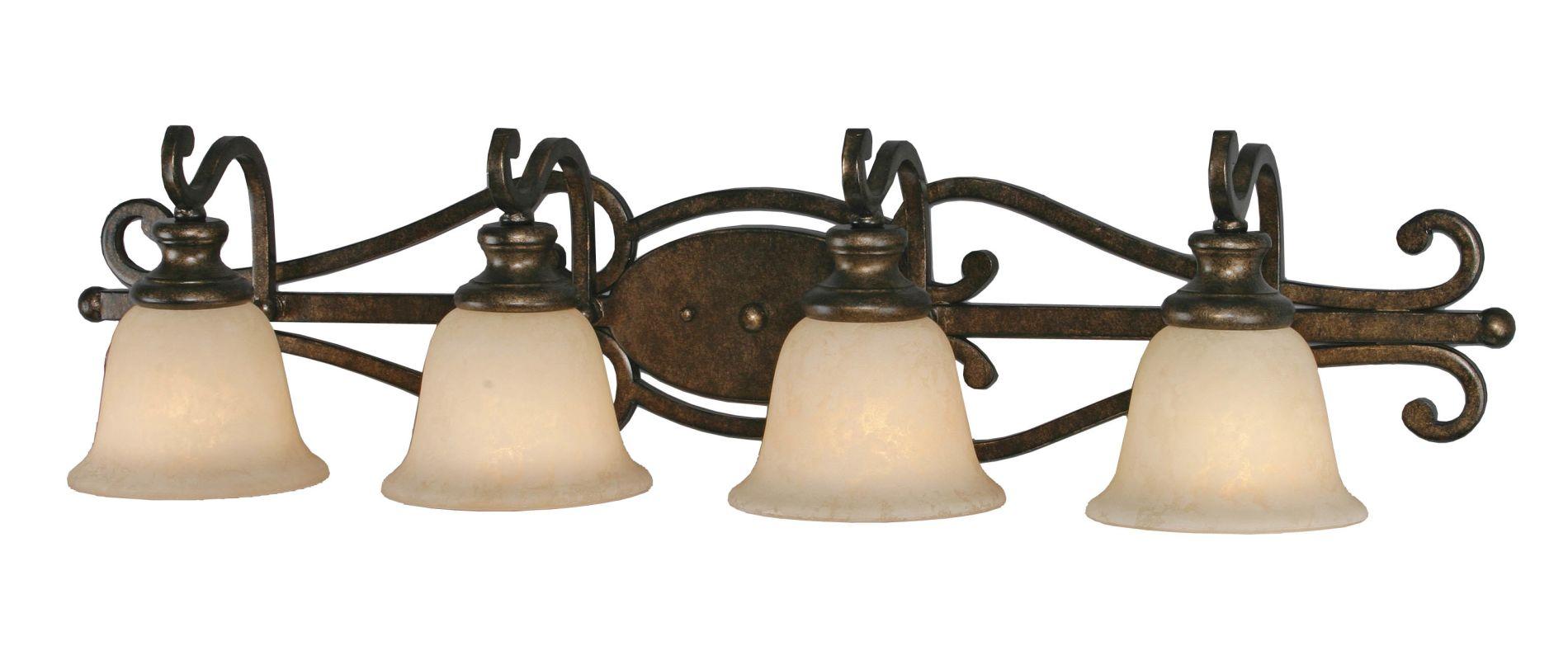 Golden Lighting 8063-BA4 Four Light Bathroom Fixture from the Sale $239.00 ITEM: bci640701 ID#:8063-BA4 BUS :