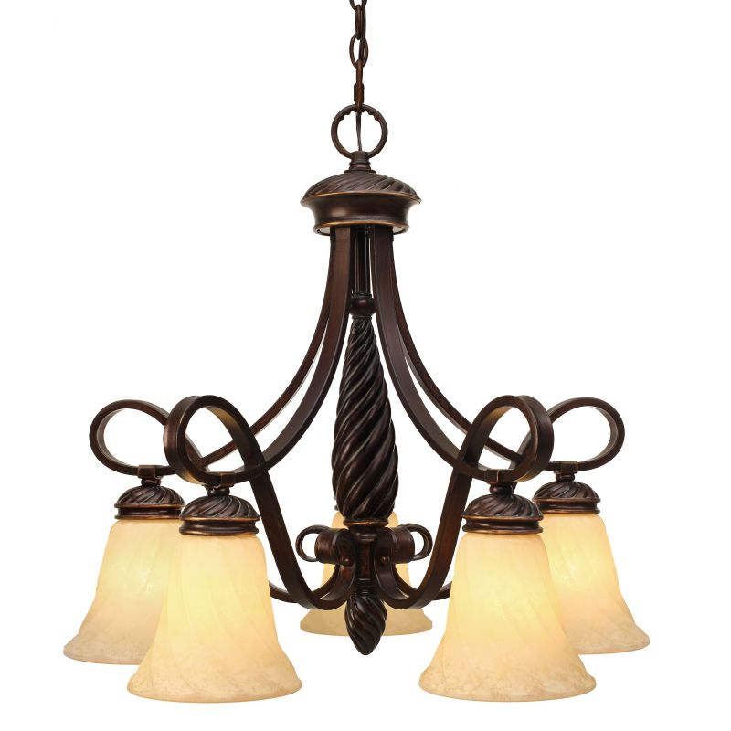Golden Lighting 8106-D5 Torbellino 5 Light Foyer Chandelier Cordoban Sale $359.00 ITEM: bci965355 ID#:8106-D5 CDB UPC: 844375010062 :