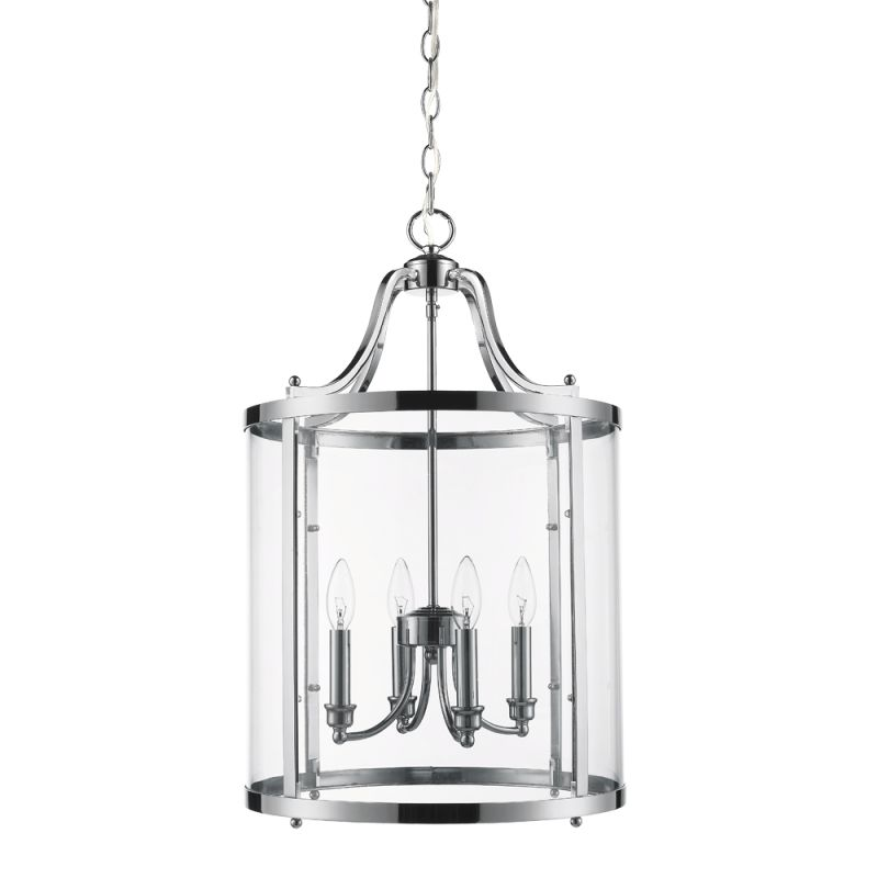 "Golden Lighting 1157-4P 4 Light 16"" Wide Pendant From the Payton"