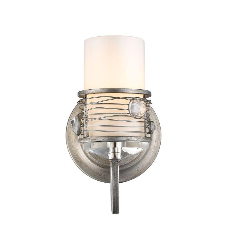 "Golden Lighting 1993-BA1 Joia 1 Light 5.375"" Wide Bathroom Sconce"